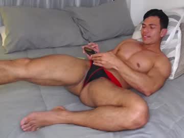 Chaturbate alejostrong record show with cum from Chaturbate