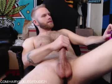Chaturbate hairycollegedude21 record public show from Chaturbate