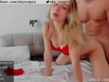 Chaturbate skycouple record video with dildo from Chaturbate.com