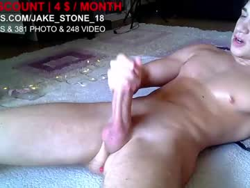 Chaturbate jake_stone_18 chaturbate show with toys